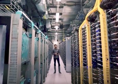 Google Data Center 360º Tour
