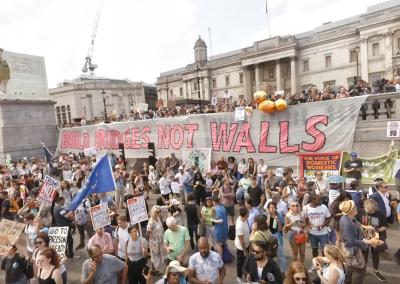 Trump Protest London feat Jeremy Corbyn