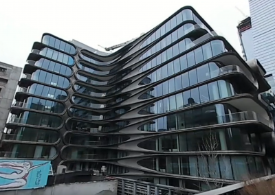 Take a 360 Tour of Zaha Hadid's 520 West 28th Street in New York