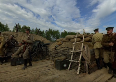 Revolution in 360º: In the Trenches of World War I