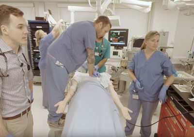 Cardiac Arrest and ALS (Code Blue) Simulation