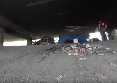 Under the Bridge: A Virtual Reality Visit with Homeless in Seattle
