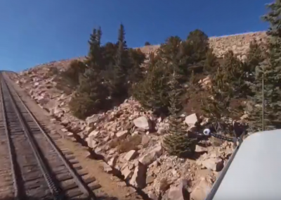 Ride on North America's Highest Train
