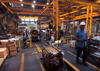 Norfolk Southern 360 Video: Juniata Shop