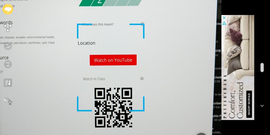 QR Code Reader Scan