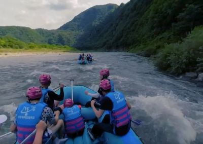 Exhilarating Rafting in Korea