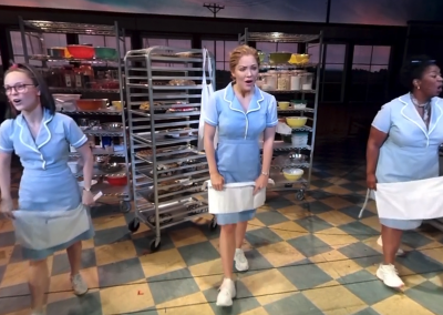 "On-Stage at Broadway's ""Waitress"""