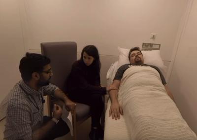 Scenario 3 – Mock Patient (Sad Relatives)