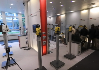 Leica Geosystems Showroom and Amberg Technologies