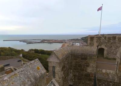 A 360º View of Dover Castle