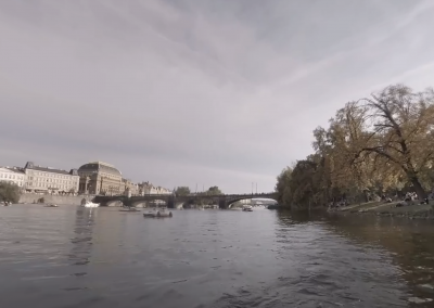 Boat Ride on the Vltava, Prague