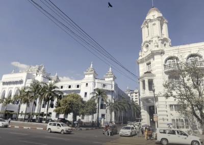 VR City Tour: Yangon, Burma (Ragoon, Myanmar)