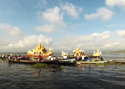Inle Phaung Daw U Pagoda Festival