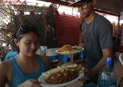 Eat at a Costa Rica Soda
