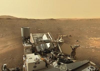 NASA's Mars Perseverance Rover – Sol 3